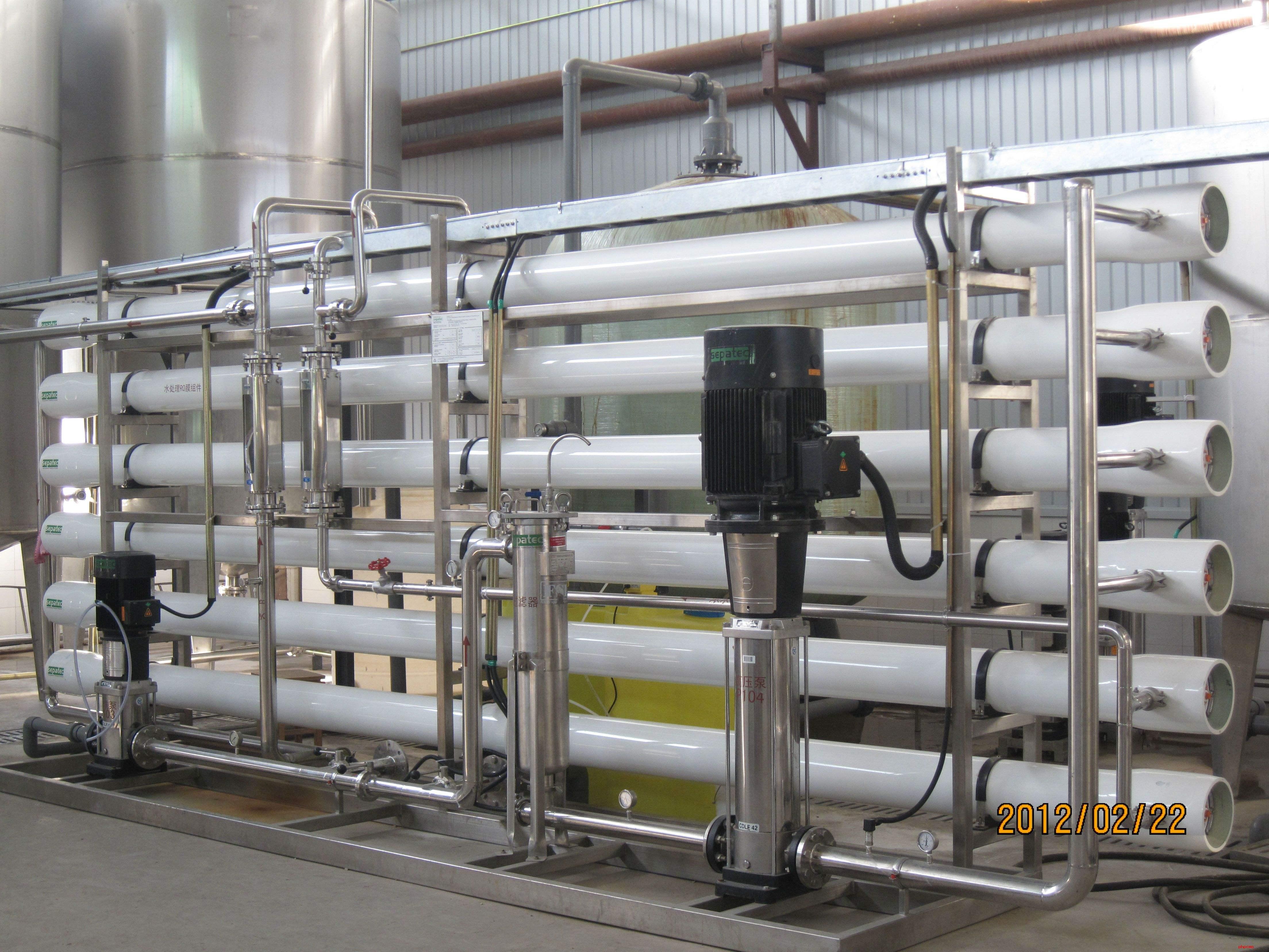 膜法物料过滤浓缩装置
